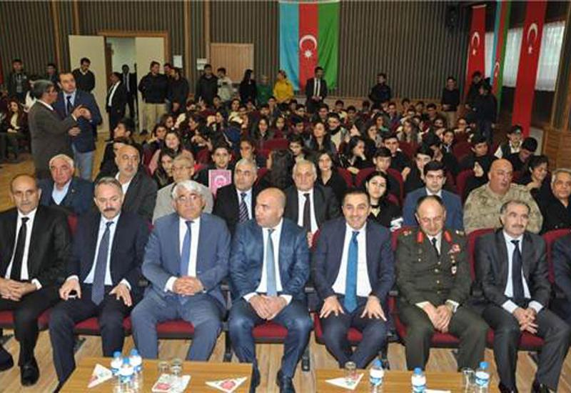 "В турецком Карсе почтили память Гейдара Алиева <span class=""color_red"">- ФОТО</span>"