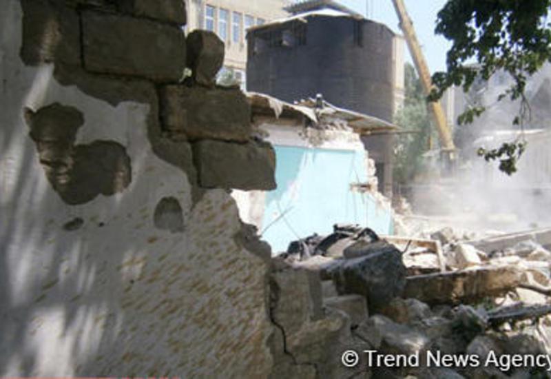 В Азербайджане возбуждено уголовное дело за незаконный снос жилья