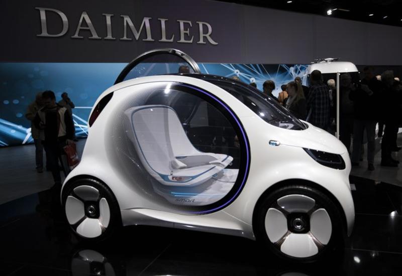 Daimler будет массово производить гибридные автомобили и электрокары