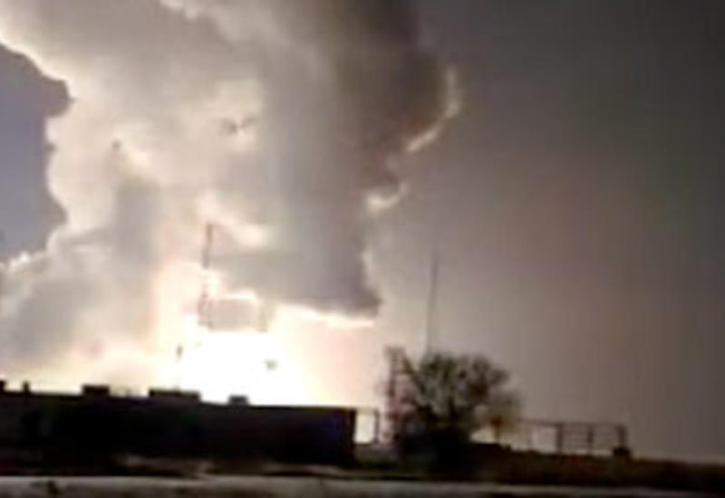 """В России ракета рухнула сразу после запуска <span class=""""color_red"""">- ВИДЕО</span>"""