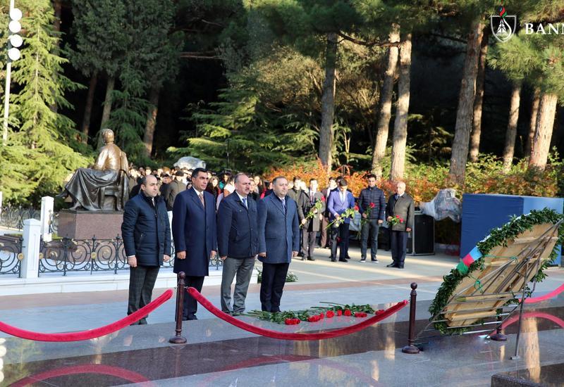 Коллектив БВШН почтил память Общенационального лидера Гейдара Алиева