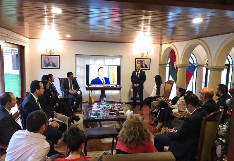 """В Колумбии почтили память Общенационального лидера Гейдара Алиева <span class=""""color_red"""">- ФОТО</span>"""
