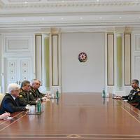 """Президент Ильхам Алиев: Азербайджан стал местом, где регулярно проводятся важные международные мероприятия, служащие укреплению стабильности и безопасности в мире <span class=""""color_red"""">- ФОТО</span>"""