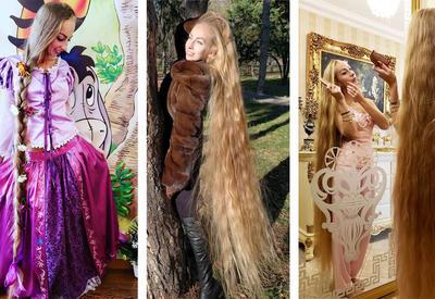 """Украинская """"Рапунцель"""" не стригла волосы 28 лет <span class=""""color_red"""">- ФОТО</span>"""