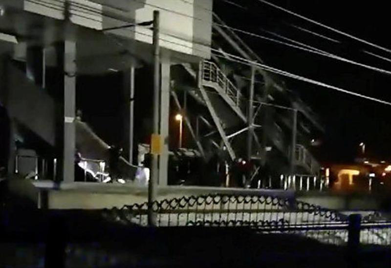 Движение скоростных поездов из Анкары остановили после крупной аварии