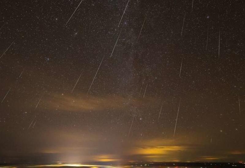 Сегодня ночью на Земле пройдет метеорный дождь