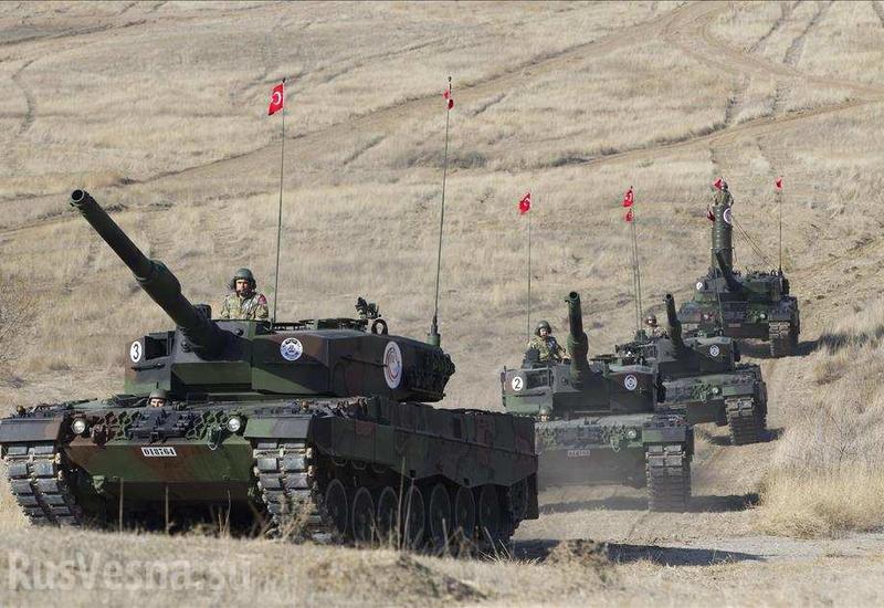 В Сирии начинается второй раунд американо-турецкого противостояния
