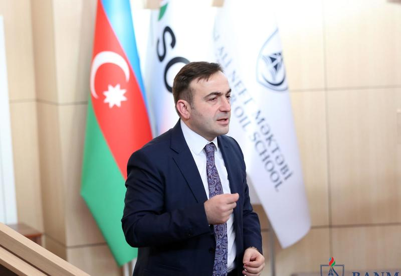 Вице-президент BP Бахтияр Асланбейли провел мастер-класс в БВШН