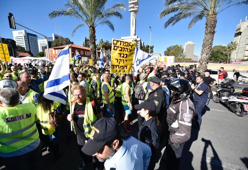 Протесты «желтых жилетов» начались и в Израиле