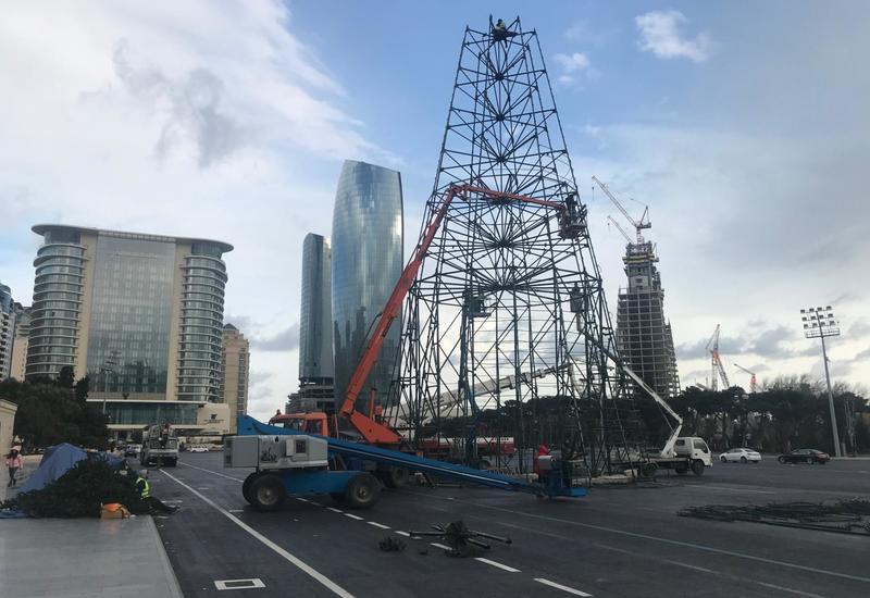 "В Баку установят 37 метровую елку <span class=""color_red"">- ФОТО</span>"
