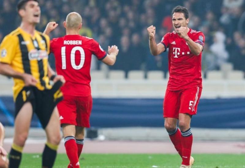 Греческий клуб выплатит «Баварии» более €32 тысяч по решению УЕФА