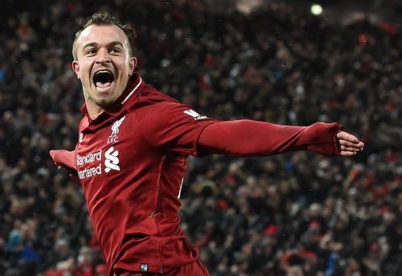 "Дубль Шакири принес победу ""Ливерпулю"" над ""Манчестер Юнайтед"" <span class=""color_red"">- ВИДЕО</span>"