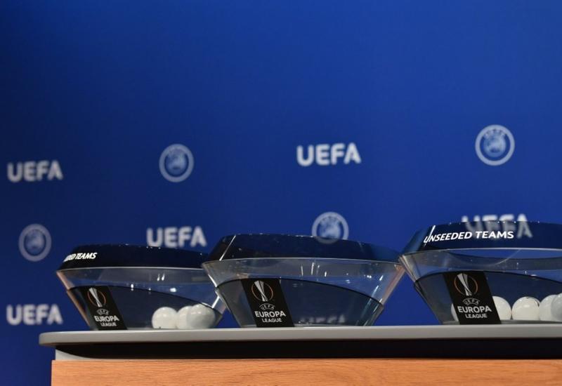 Состоялась жеребьевка 1/16 финала Лиги Европы УЕФА