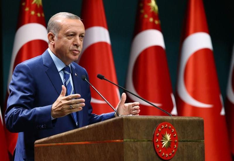 Эрдоган о присутствии террористов на севере Сирии