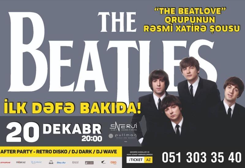 """В Баку пройдет реинкарнация группы The Beatles <span class=""""color_red"""">- ВИДЕО</span>"""