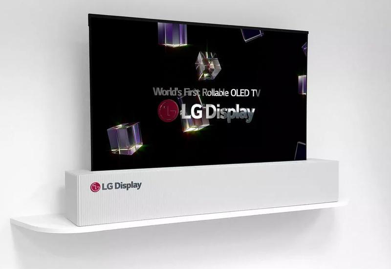 LG выпустит сворачиваемый в рулон телевизор