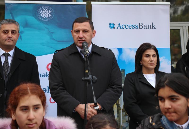 """AccessBank исполнил желания детей из прифронтового села <span class=""""color_red"""">- ФОТО</span>"""