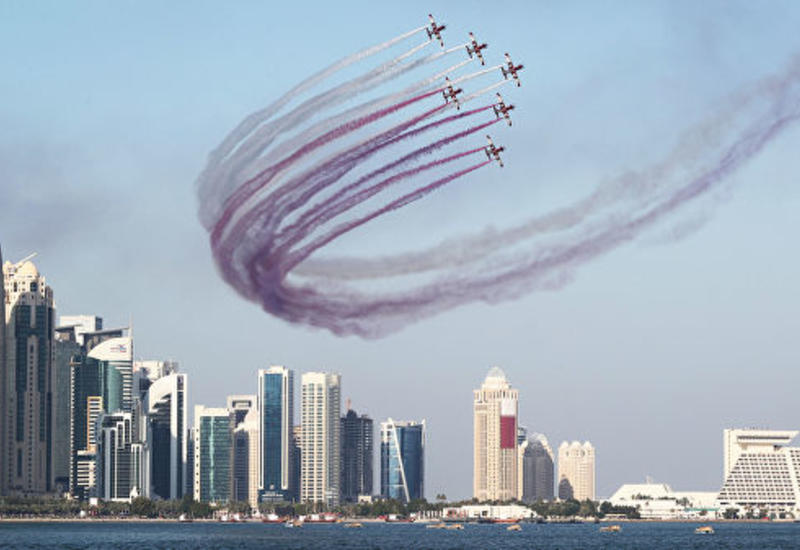 "Катар провел военный парад на фоне конфликта с соседями <span class=""color_red"">- ФОТО</span>"