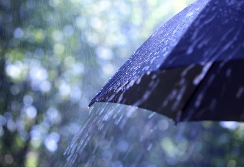 В Баку будет дождливо и ветрено