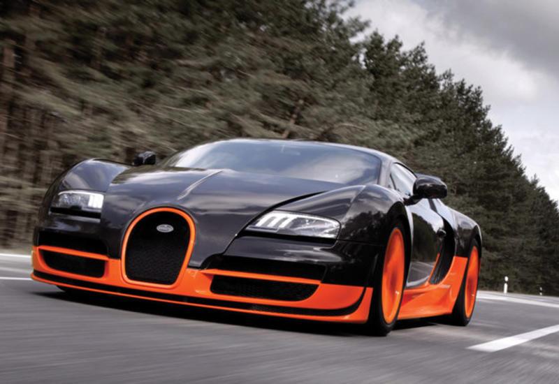 Названа стоимость ремонта гиперкара Bugatti Veyron