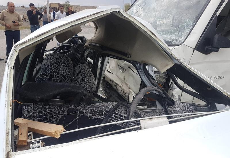 В Шемахе произошло тяжелое ДТП, погибла женщина