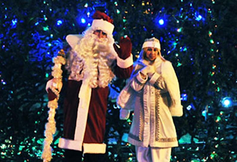 """Сколько стоит заказать Деда Мороза и Снегурочку в Баку? <span class=""""color_red"""">- ЦЕНЫ</span>"""