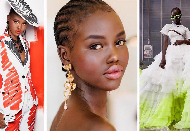 18-летняя Адут Акеч стала моделью года