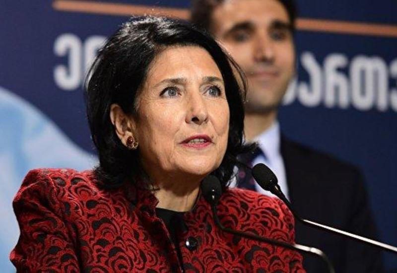 Президент Грузии прервала свой визит в Беларусь и возвращается в Тбилиси
