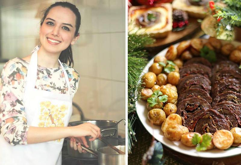 Новогоднее меню - Рецепт мясного рулета от Или Мамедовой