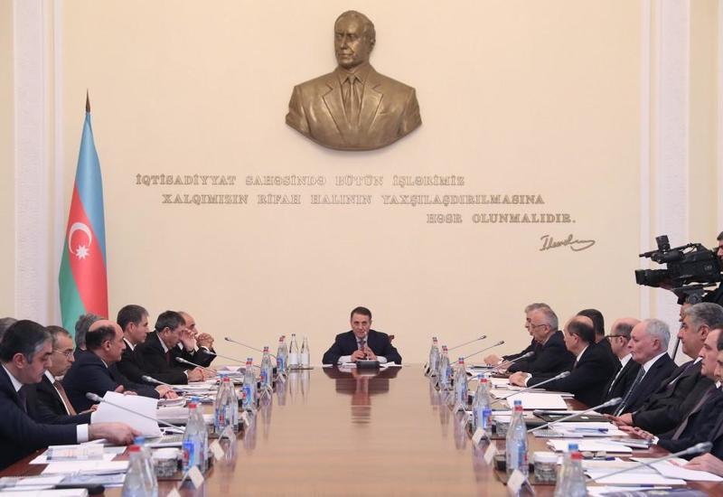 Под председательством премьер-министра Азербайджана прошло очередное заседание Кабмина