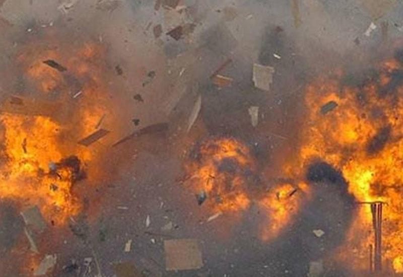 Сильный взрыв в Италии, есть жертвы