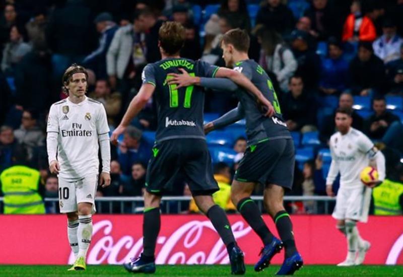 """Мадридский """"Реал"""" впервые с 2004 года проиграл """"Реалу Сосьедад"""""""