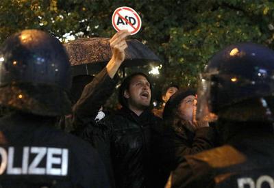 В Германии напали на депутата от правой партии