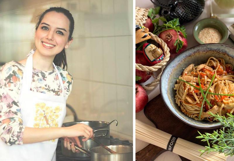 Лапша по-азиатски за 15 минут - Рецепт от Или Мамедовой