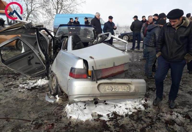 Ужасное ДТП в Азербайджане, есть жертвы