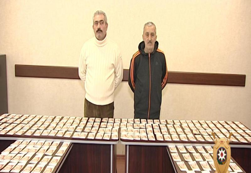 В Азербайджане задержаны фальшивомонетчики, изъята крупная сумма