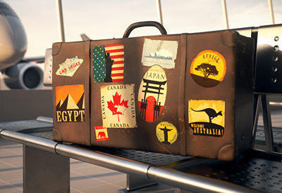 Самые странные вещи в чемоданах туристов
