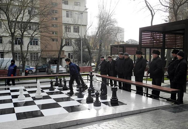 """В Баку в рамках проекта """"Наш двор"""" благоустроен очередной двор"""