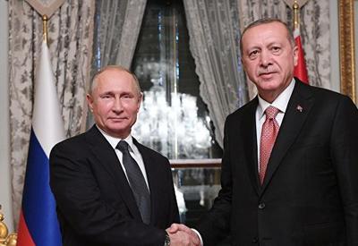Стало известно, что будут обсуждать Эрдоган и Путин в Анкаре