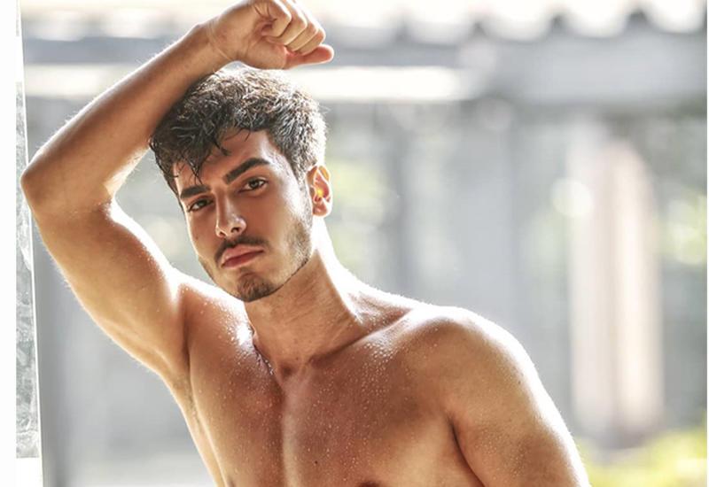 Модель из Азербайджана стал одним из лучших на конкурсе в Индии
