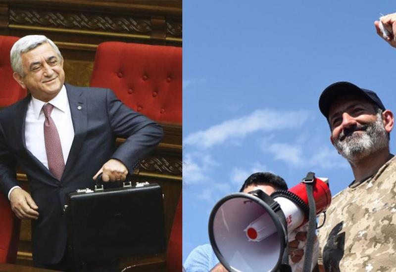 Саргсян прячется от Пашиняна в оккупированном Карабахе?