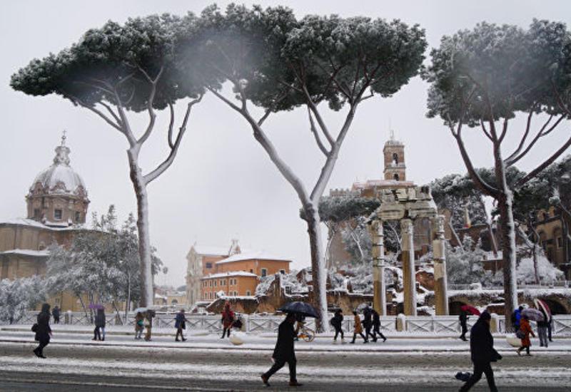 В Риме из-за заморозков погибли десять бездомных