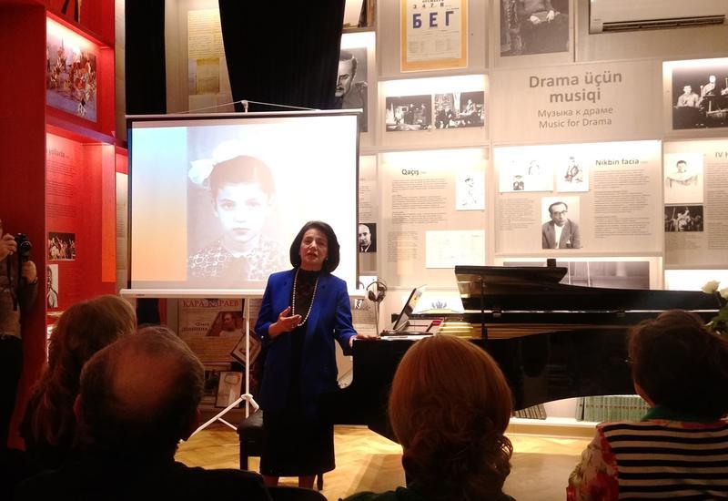 В Доме-музее Гара Гараева состоялась встреча с Франгиз Ализаде