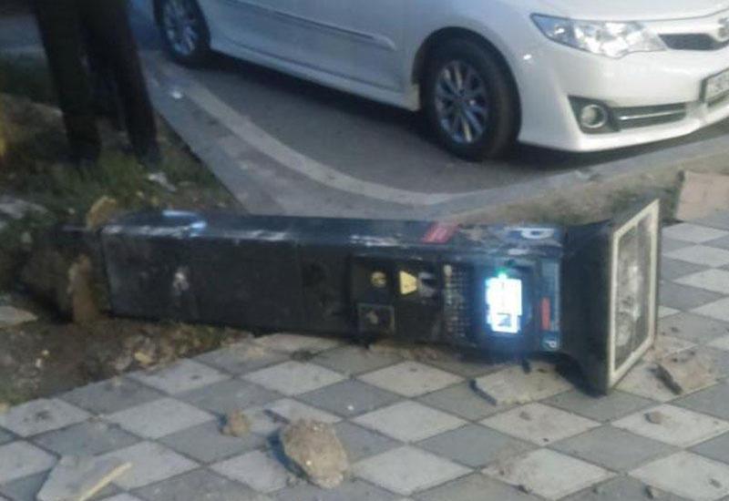 Bakıda parkomatlar yığışdırılır