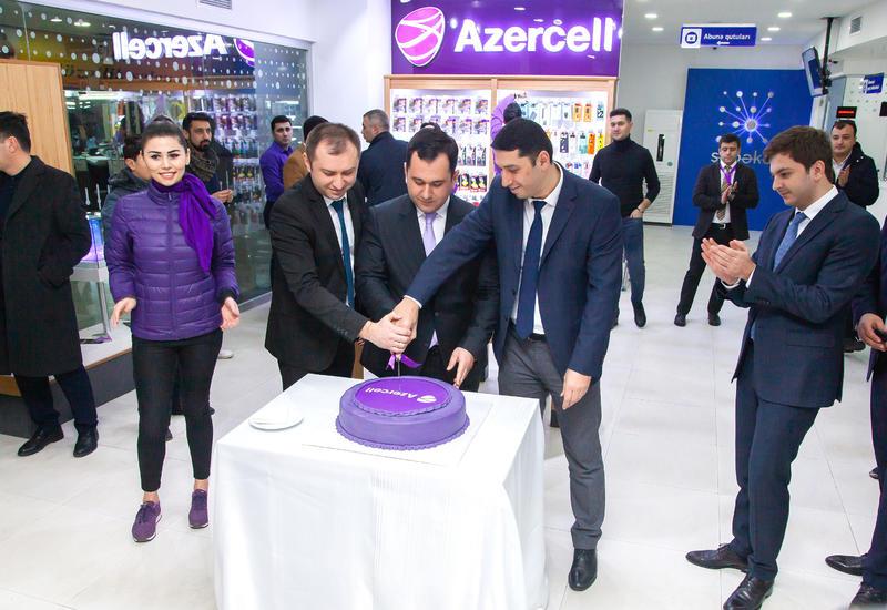 """Центр обслуживания Azercell с новой концепцией теперь в Бакинском Международном Автовокзале <span class=""""color_red"""">- ФОТО</span>"""