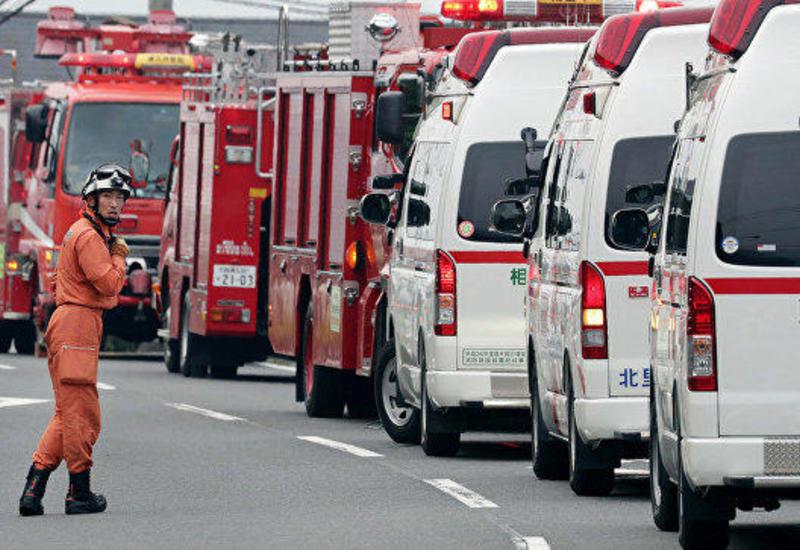 Пожар в автомобильном тоннеле в пригороде Токио: есть погибший, десятки раненых