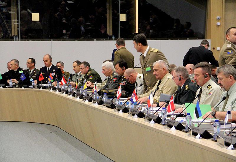 Наджмеддин Садыков на переговорах НАТО