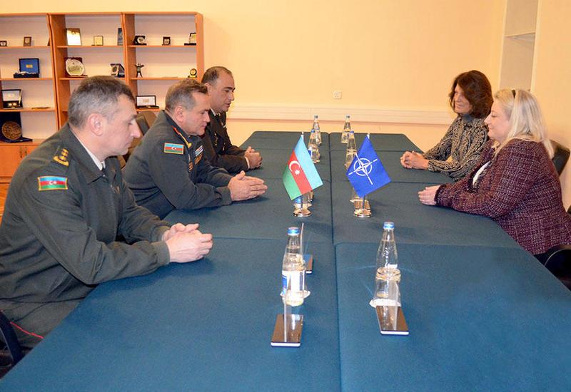 Экспертная группа НАТО на переговорах в Баку