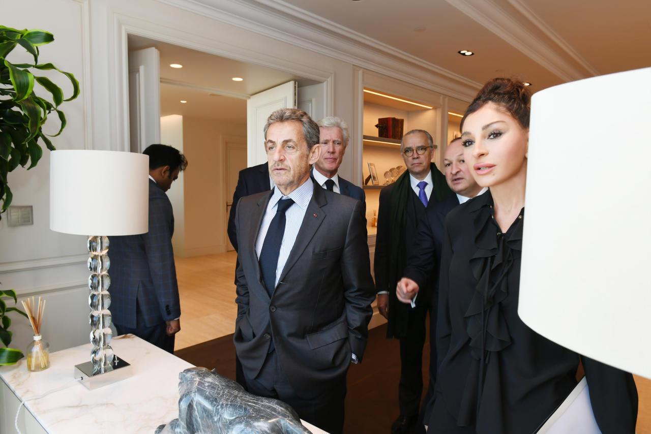 Первый вице-президент Мехрибан Алиева встретилась с Николя Саркози