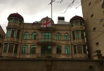 Посольство Грузии в Азербайджане приспустило флаги